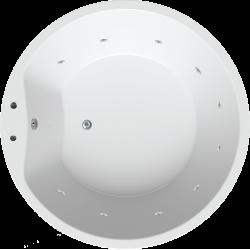 Oviedo 160 met whirlpool systeem 1E