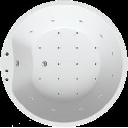 Oviedo 160 met whirlpool systeem 5P